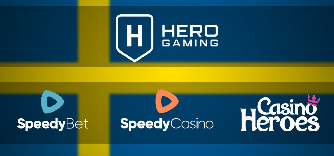 Hero Gaming receives a Swedish Gambling License