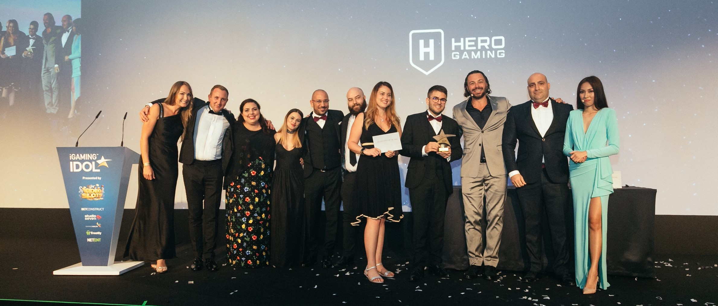 Hero Gaming wins the iGaming Idol 2019 Employer of the Year Award